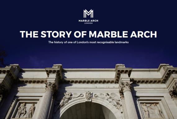 Ever wondered about the Story of Marble Arch?