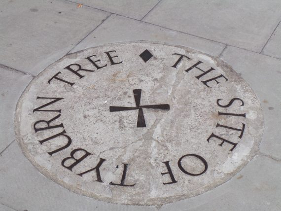 Restoration Of The Tyburn Stone Plaque