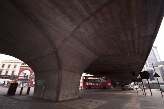 In Praise of the Marylebone Flyover, and What Lies Beneath