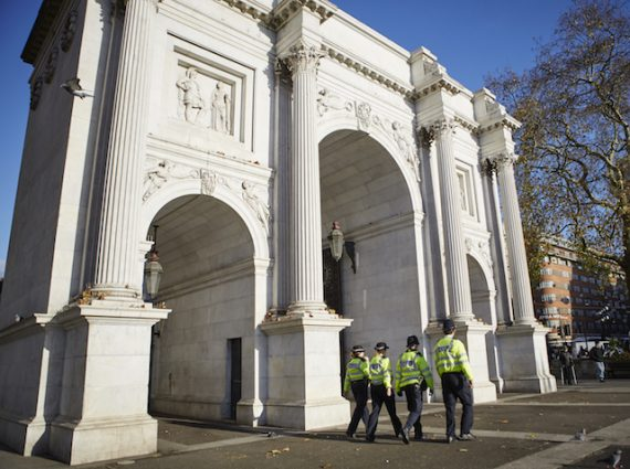 Was Marble Arch Ever A Police Station?