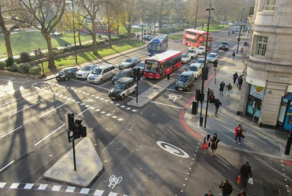 New Pedestrian and Cyclist Crossings open at Marble Arch