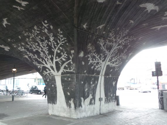 There's a Forest Under the Flyover