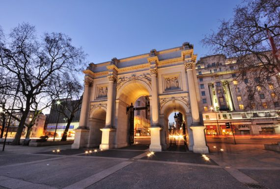 Relighting Marble Arch