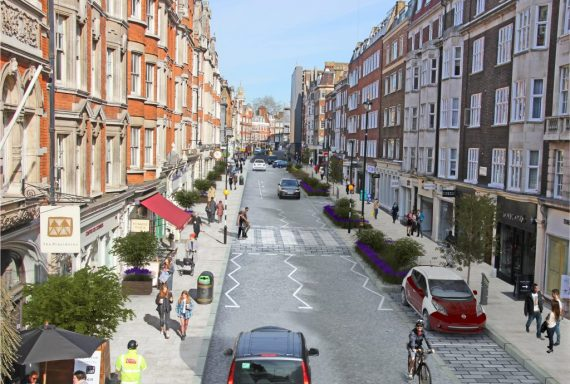 Parking surcharge in Marylebone from 26 June