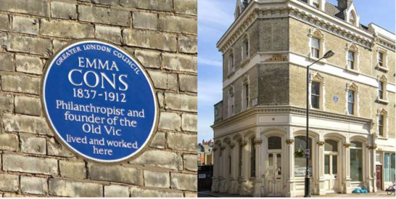 Emma Cons, the pioneering Marylebone resident