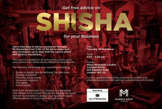 Free shisha drop-in advice session