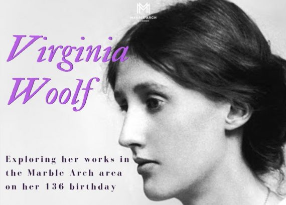 Virginia Woolf in Marble Arch