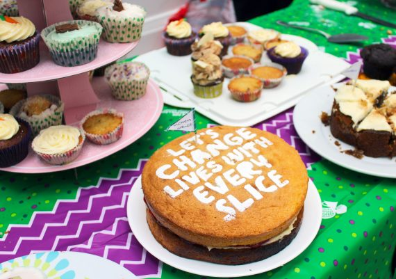Be Star Baker at Macmillan Coffee Morning in Marble Arch, 27 September