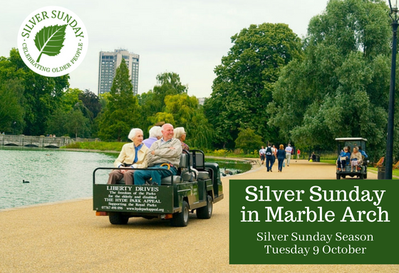 Save Your Place: Sterling Soiree for Silver Sunday in Marble Arch, October