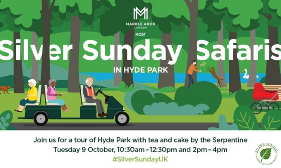 Volunteer & Join In: Silver Sunday Safaris in Marble Arch, 9 October