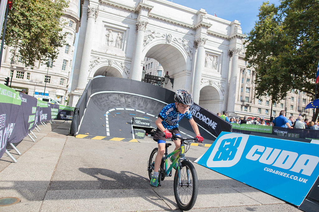 Marble Arch hosts Festival Of Cycling
