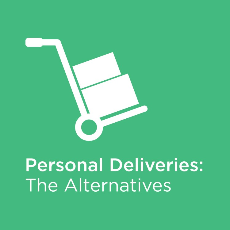 Personal Deliveries: we tested the alternatives