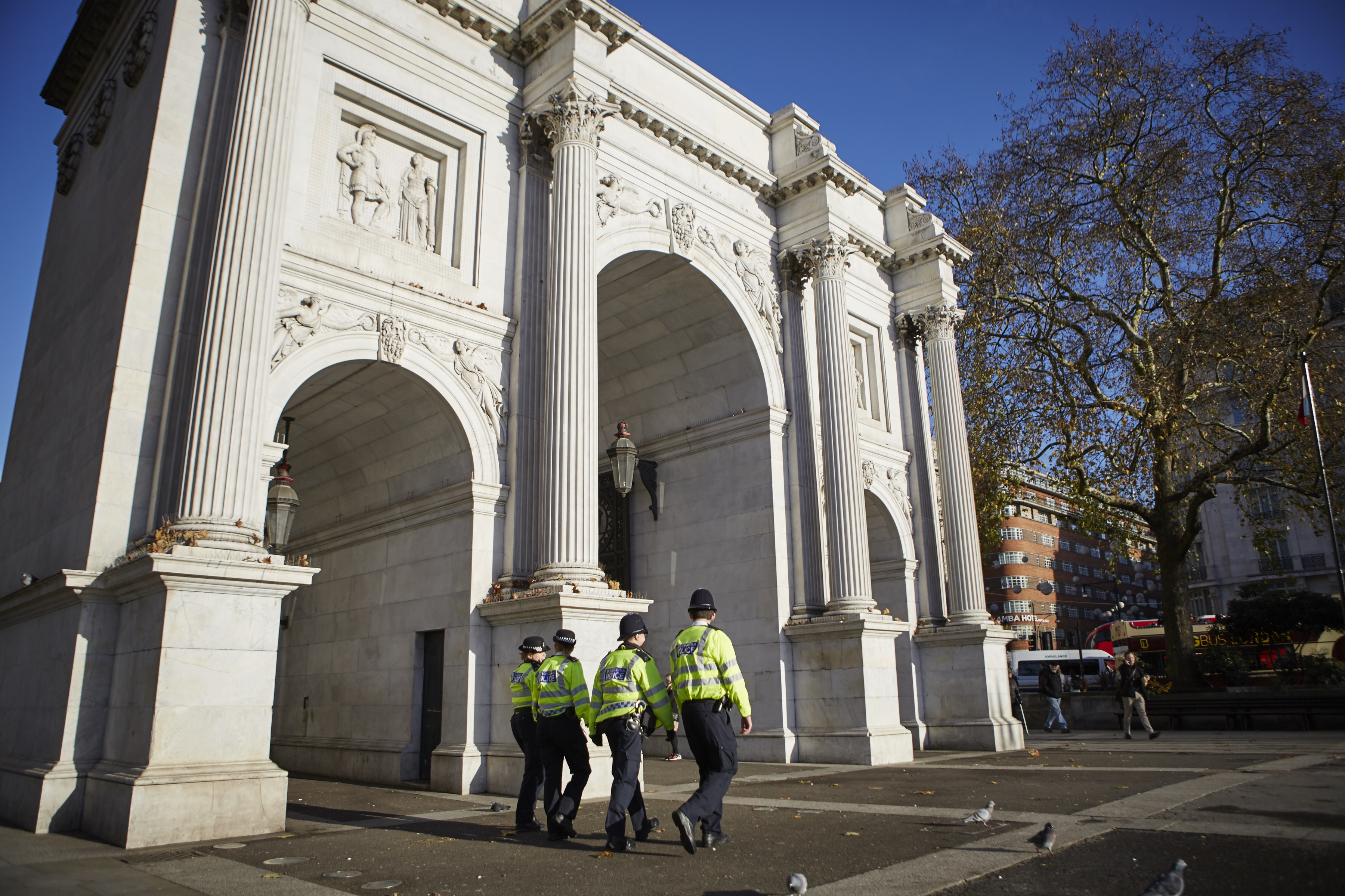 John Betjeman Wrote a Poem About Marble Arch