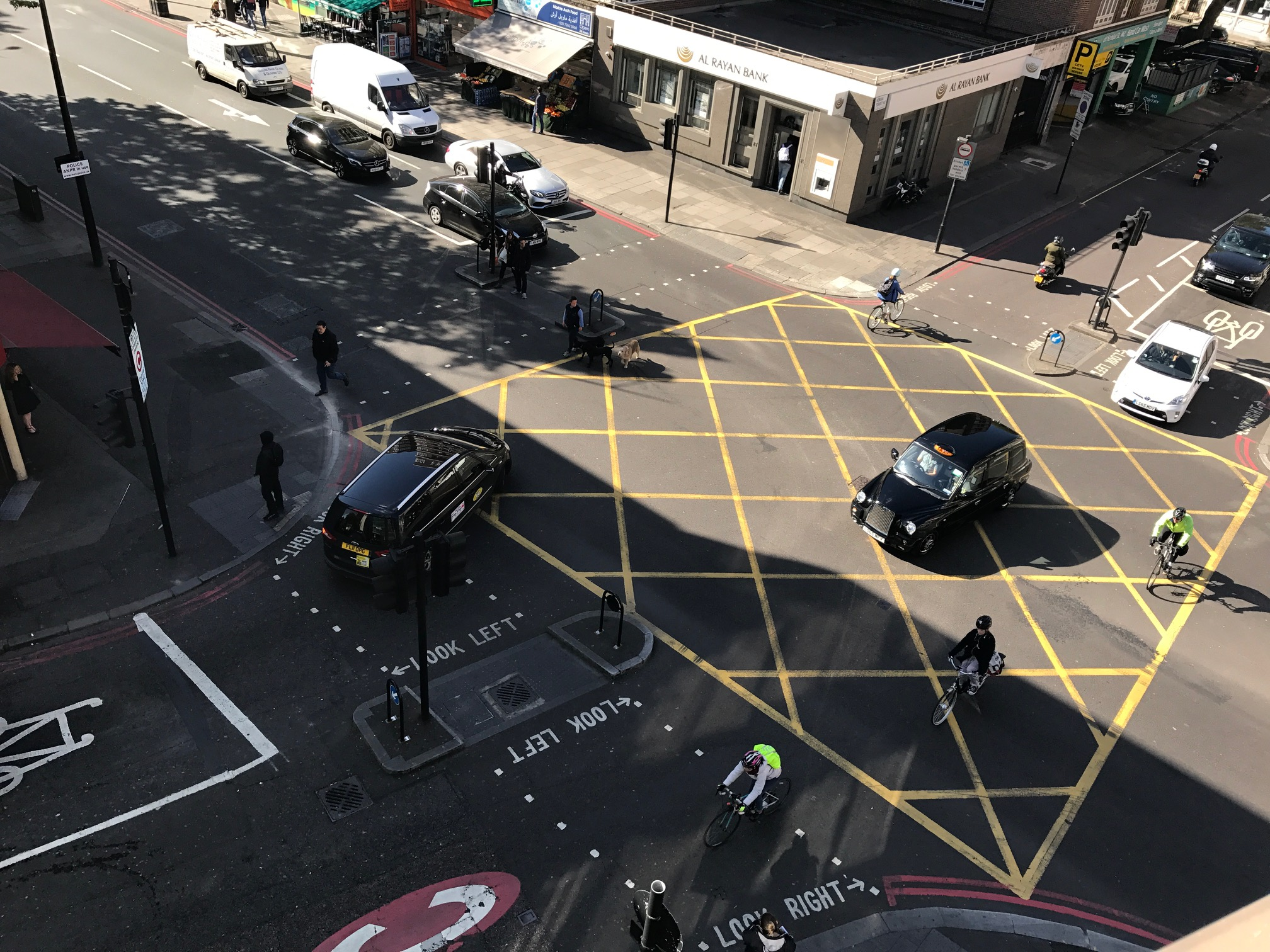 Safer Junctions on Edgware Road