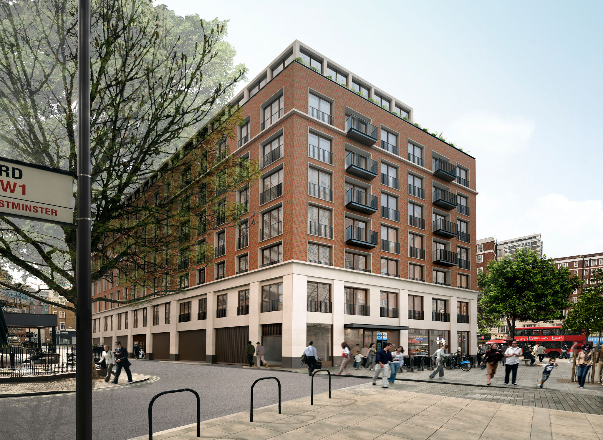 Redevelopment for Regent House