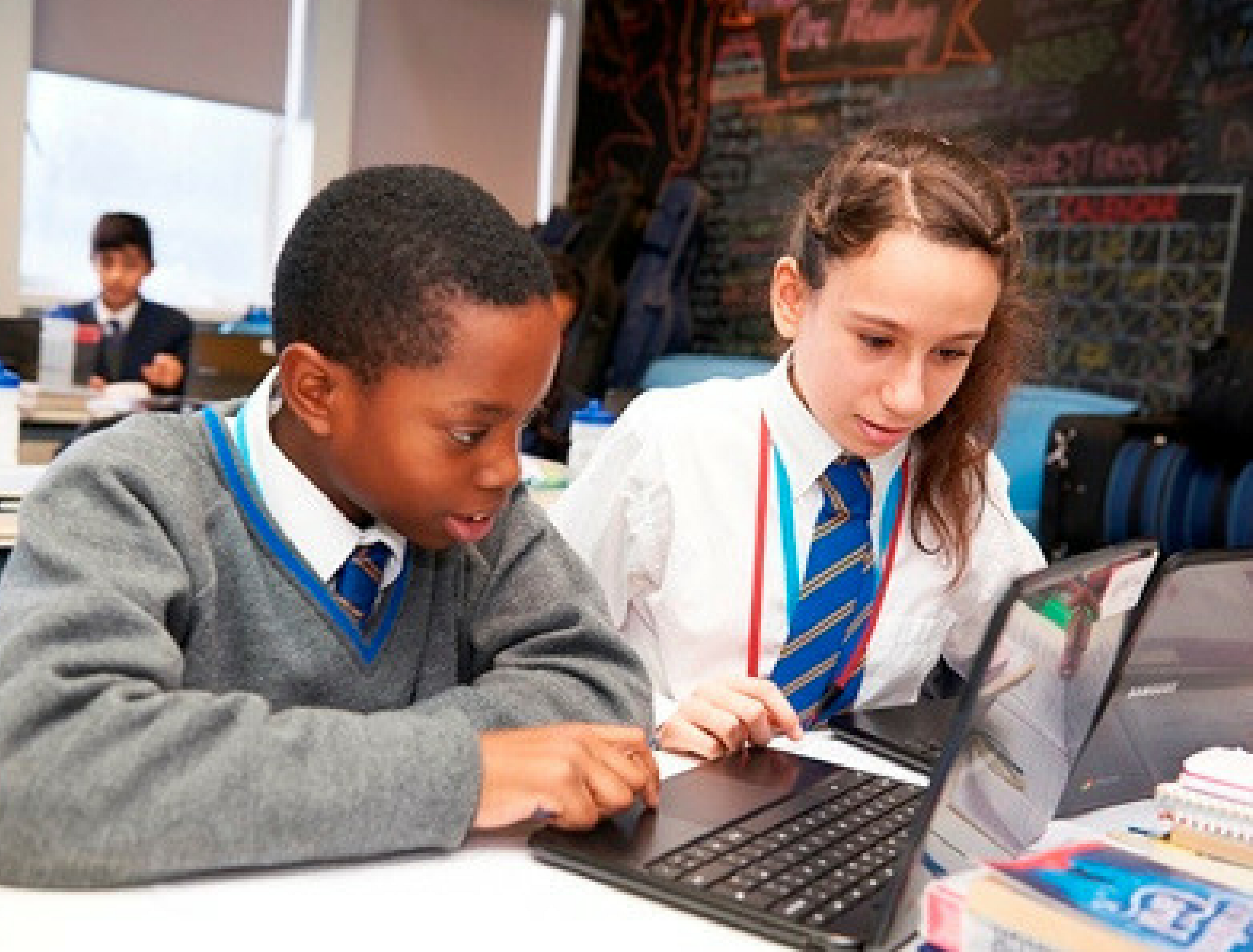 Share business skills with local pupils