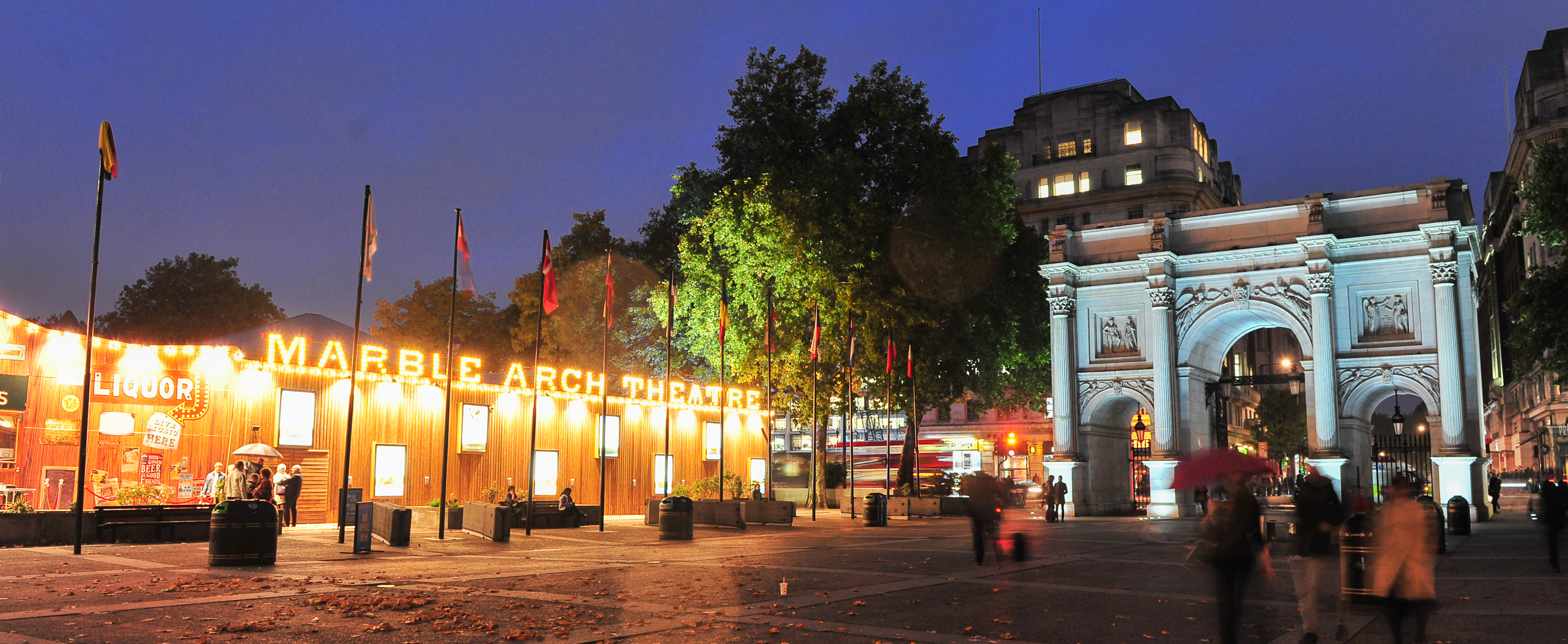 Marble Arch Shines Bright Marble Arch London