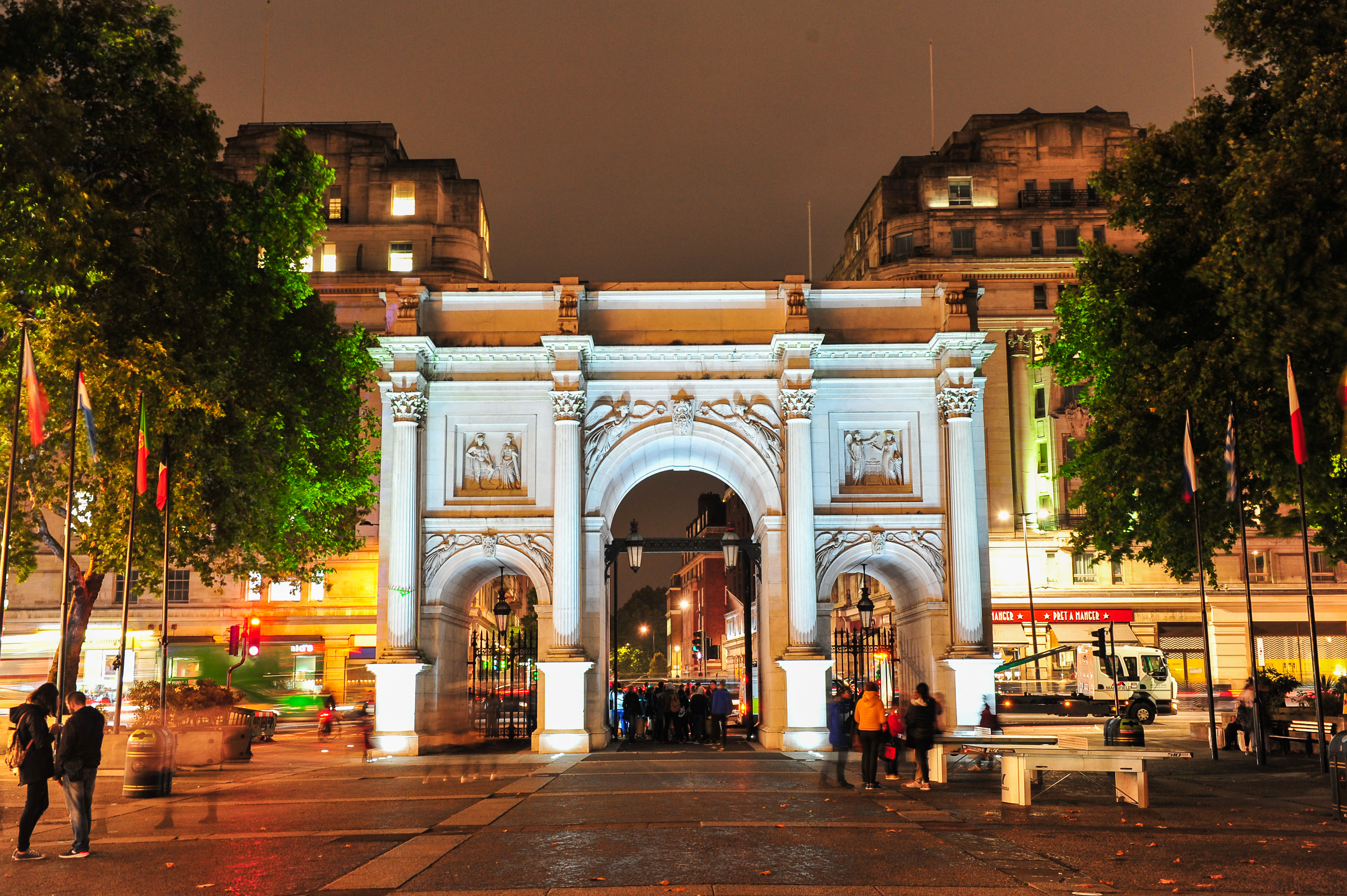 Marble Arch Shines Bright!