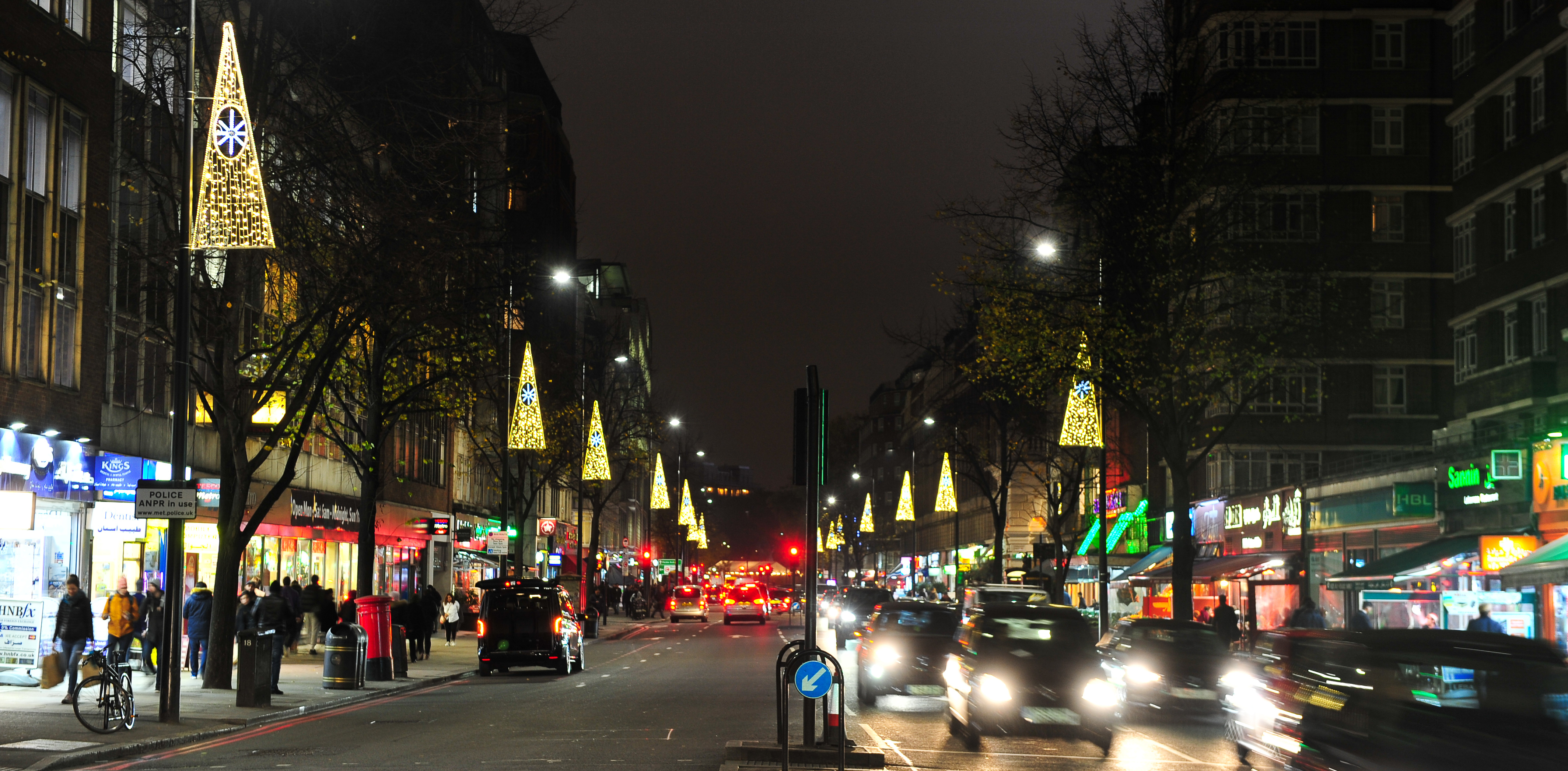 Edgware Road Christmas Lights Switch-on