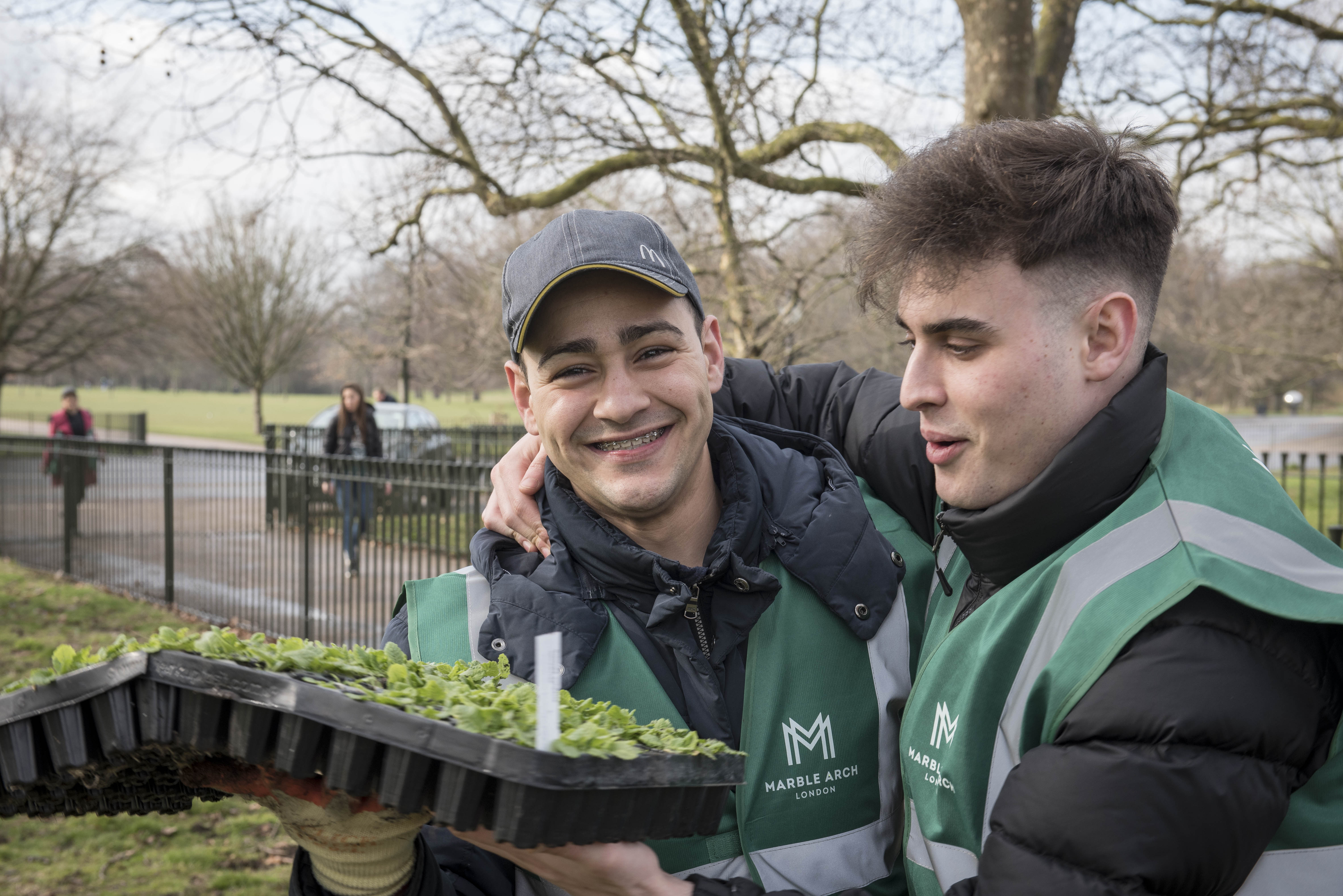 Hyde Park hosts Great British Spring Clean