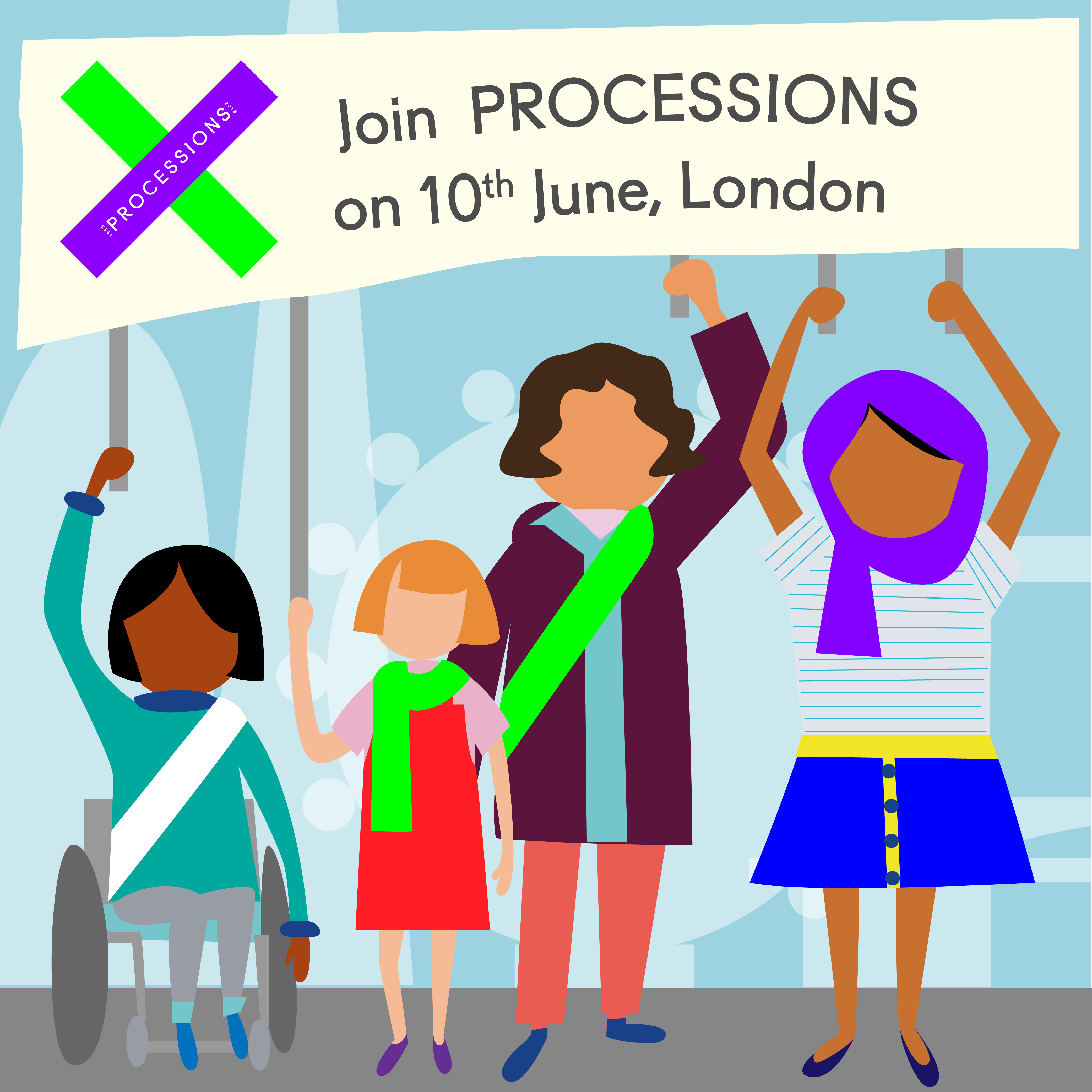 PROCESSIONS: Be a part of History