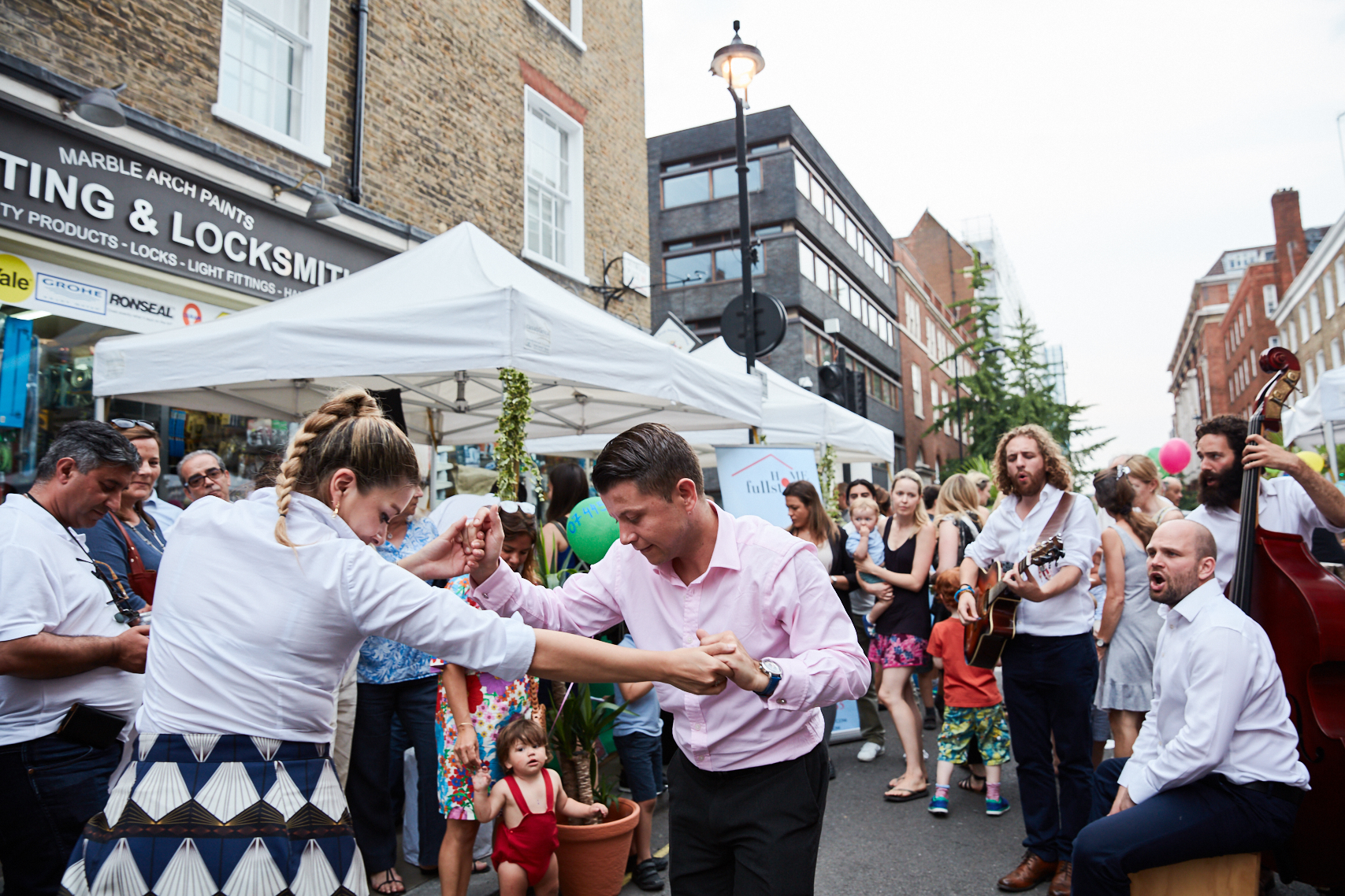 The Portman Summer Street Party 2018