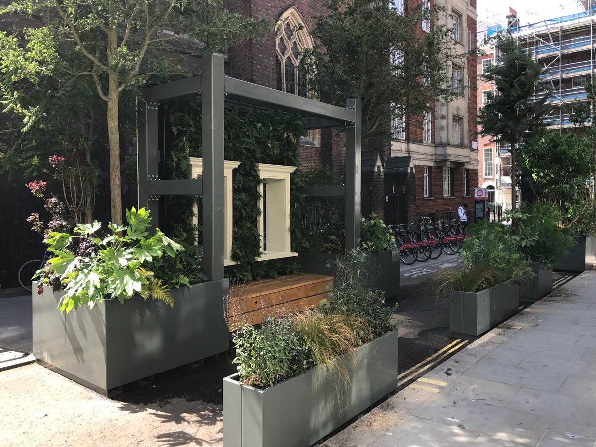 Wild West End Garden arrives at Marble Arch