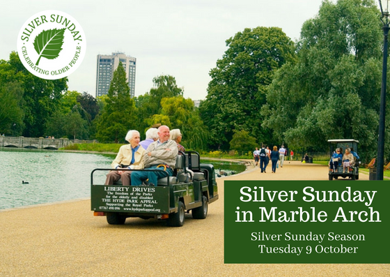 Save Your Place: Silver Sunday in Marble Arch