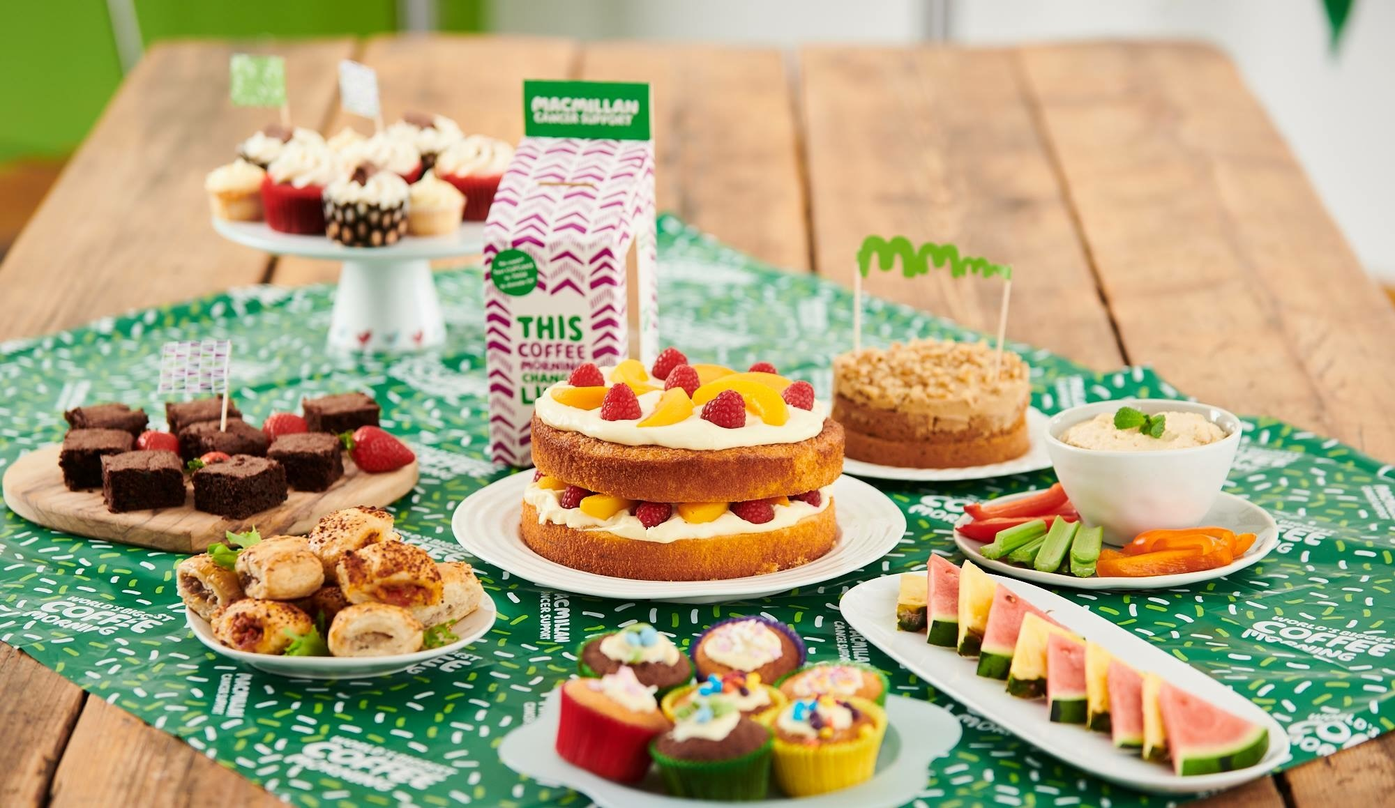 Be Star Baker, Macmillan Coffee Morning
