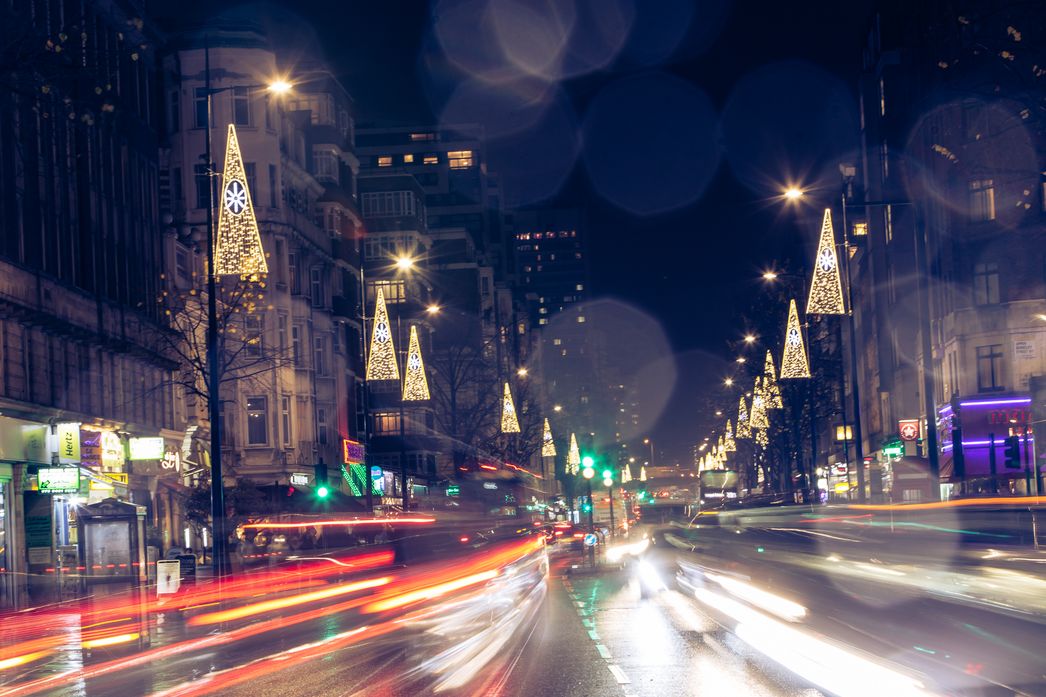 It's merry and bright with Edgware Road's Christmas Lights!