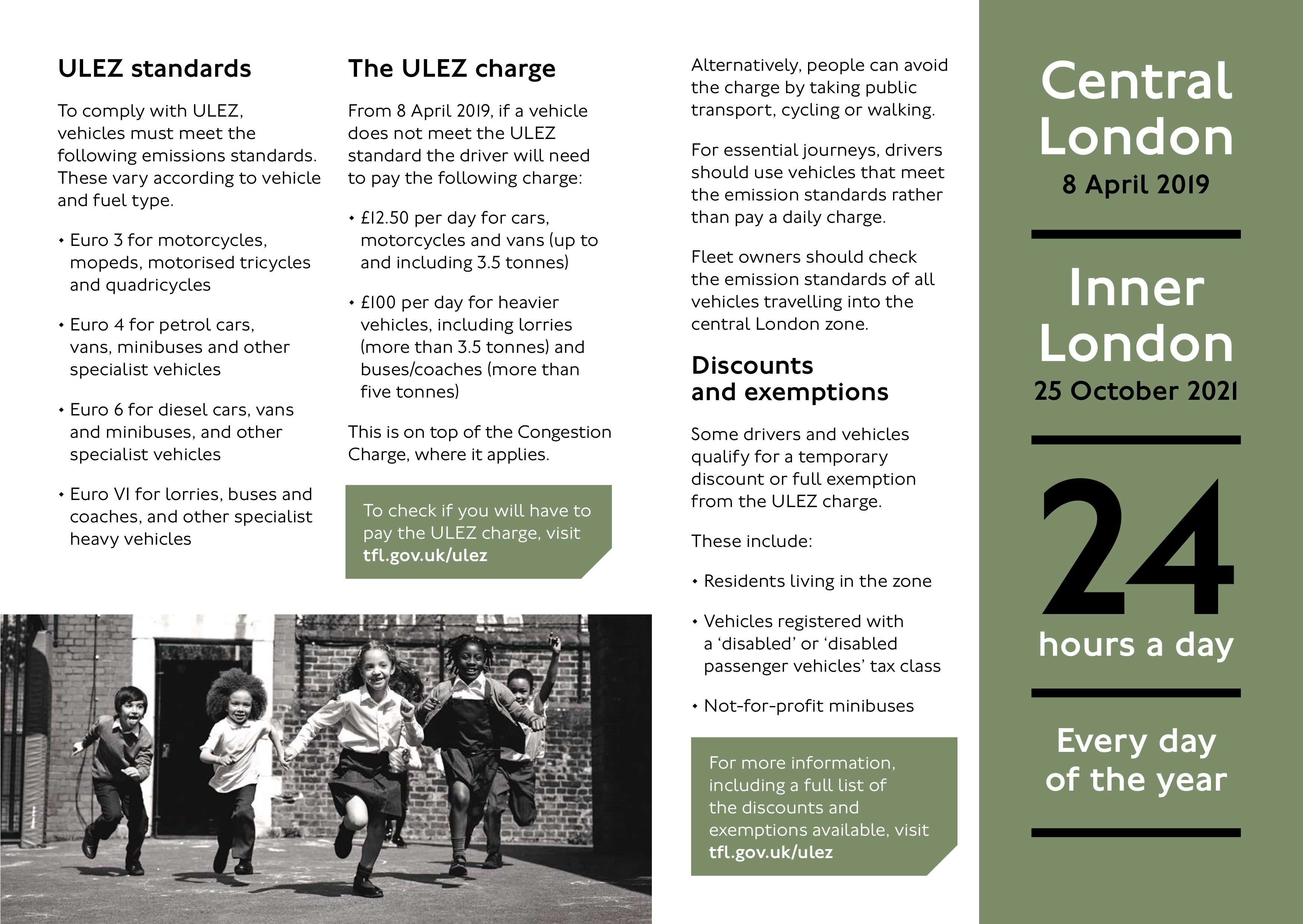 Implement DeliverBEST before 8 April to avoid ULEZ charges