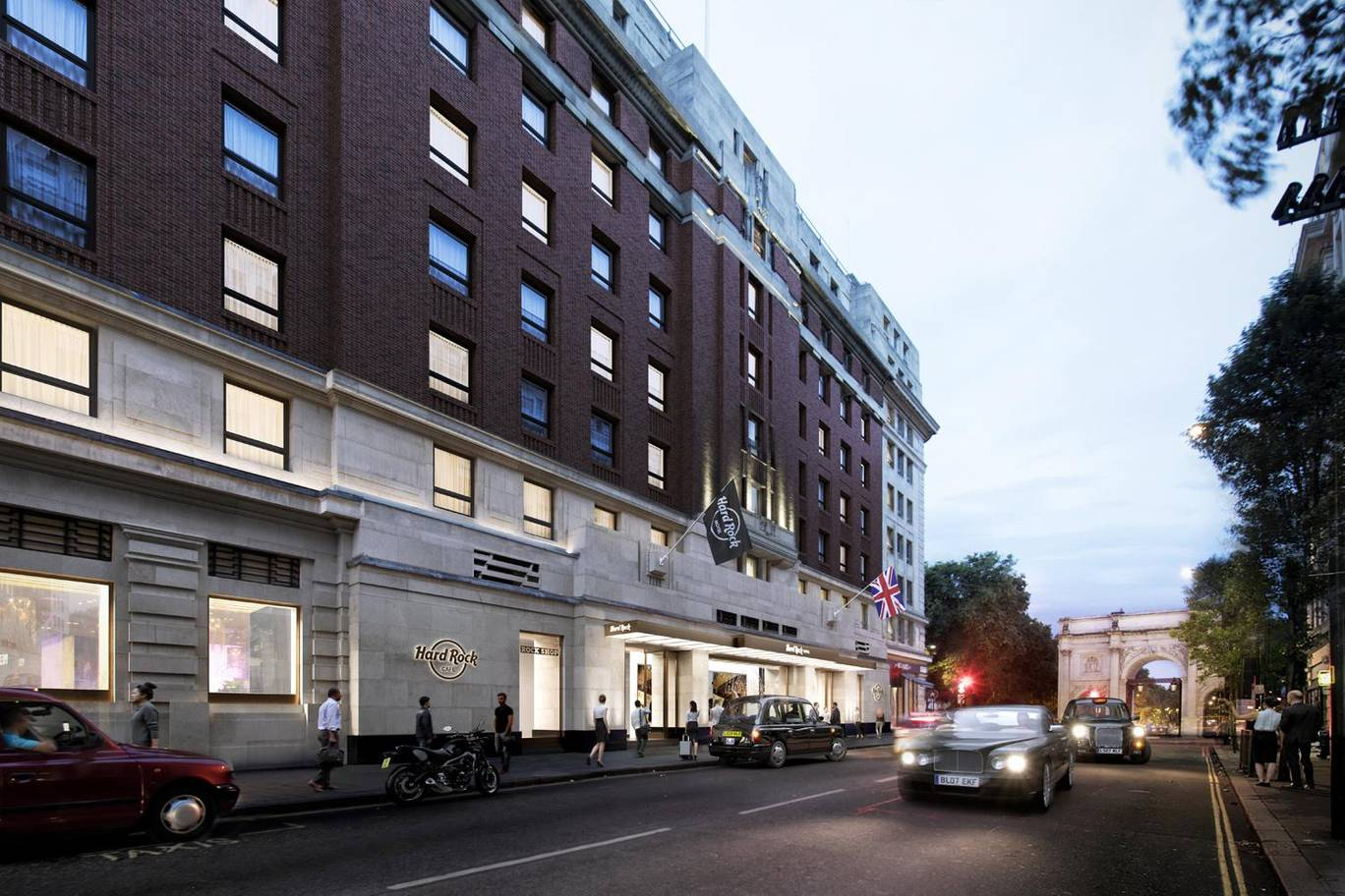 Hard Rock Hotel London steals the show!
