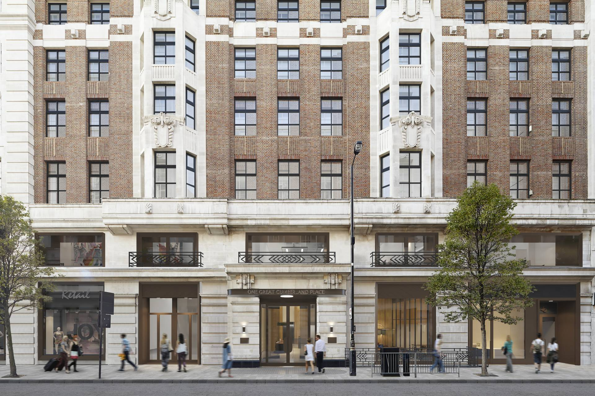 Galliford Try to revamp Marble Arch Place