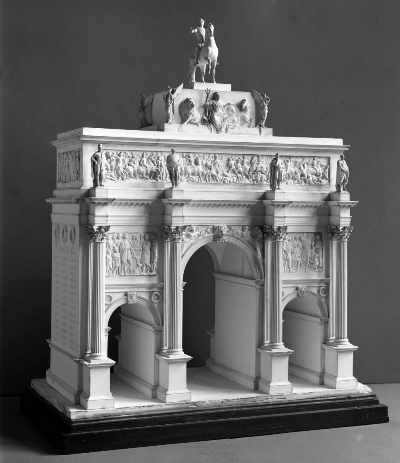 Model of Marble Arch in the Victoria & Albert Museum
