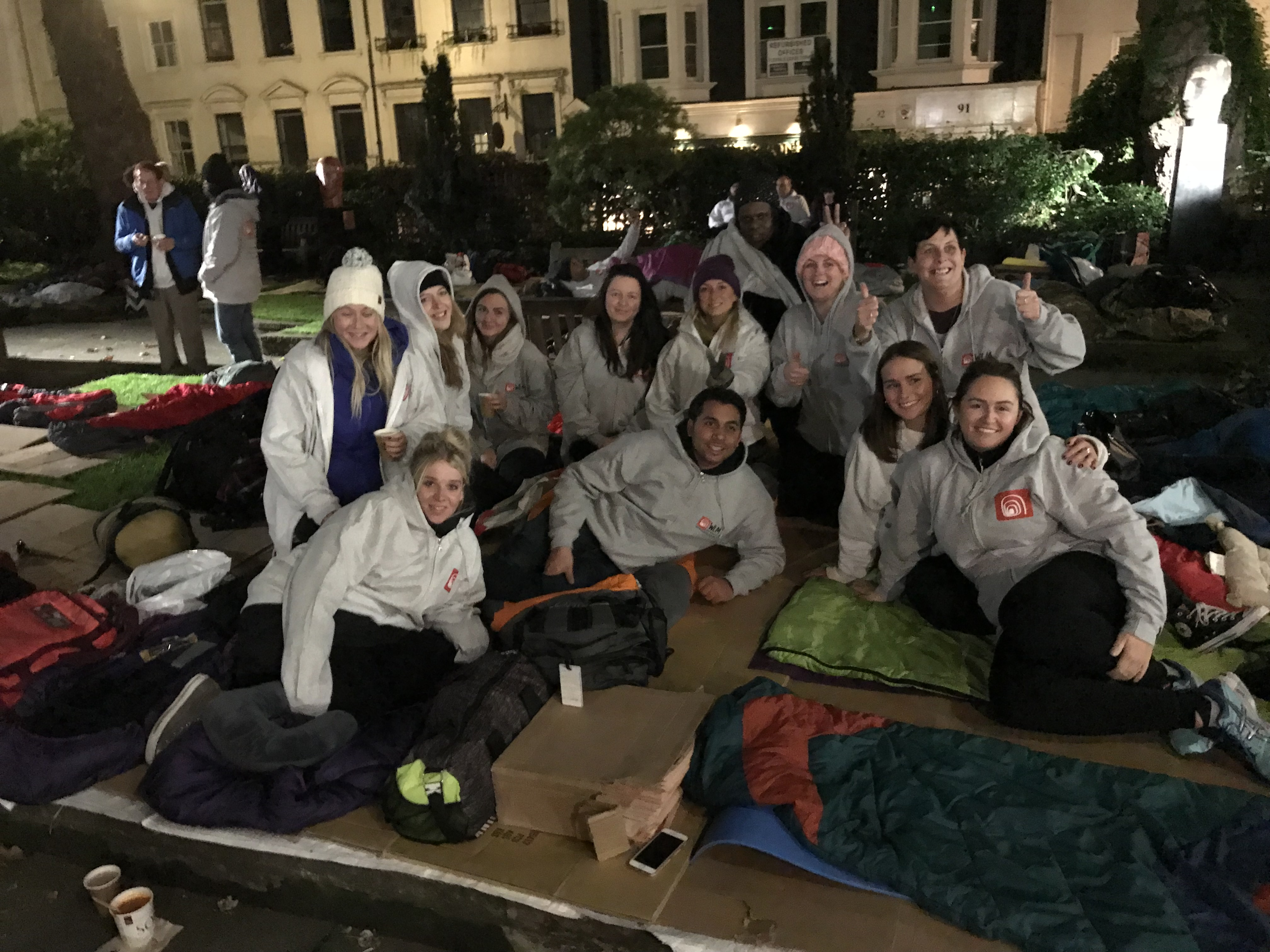 West London Mission Sleep Out 2019