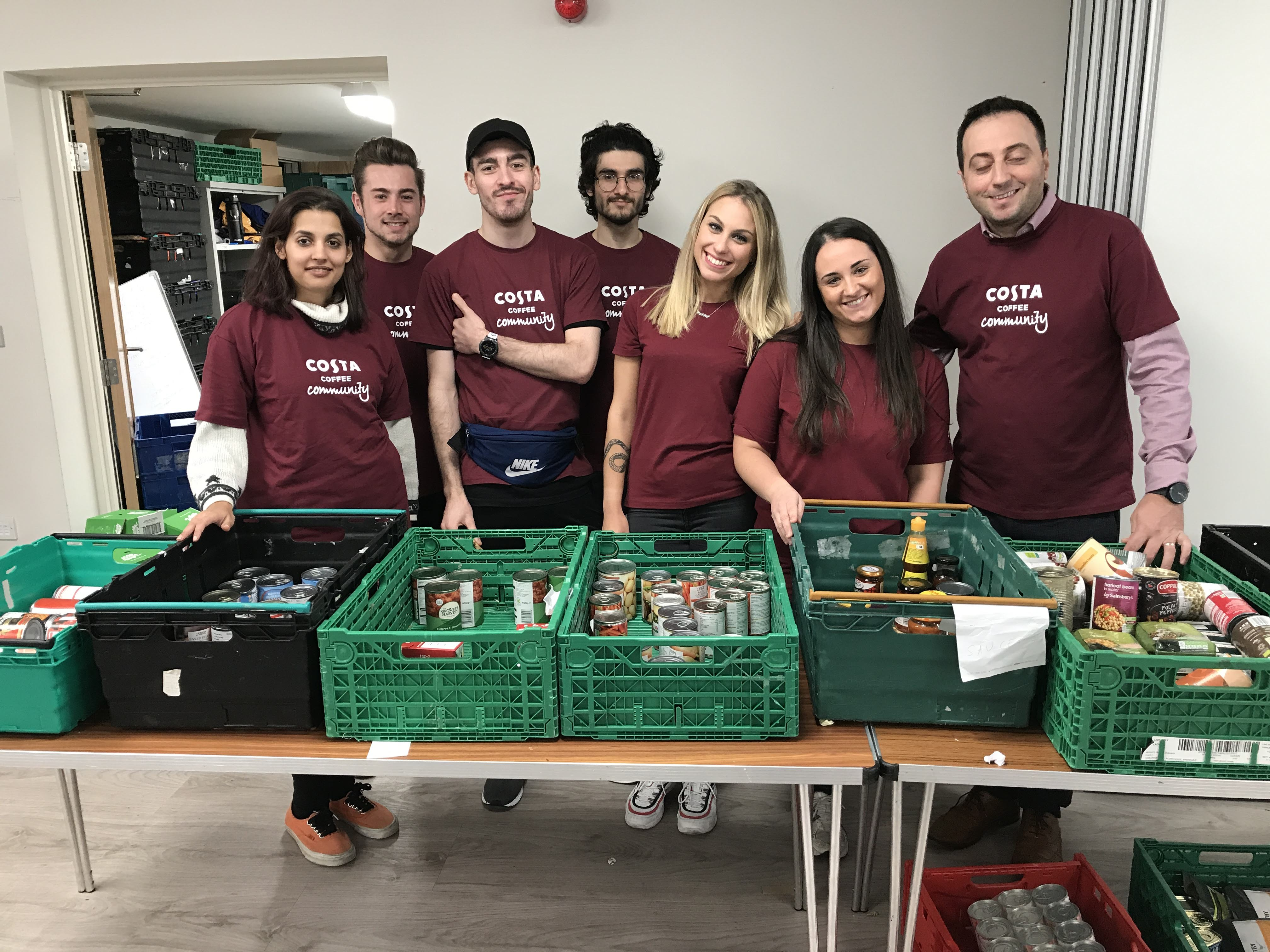 Costa Colleagues Support Their Local Foodbank