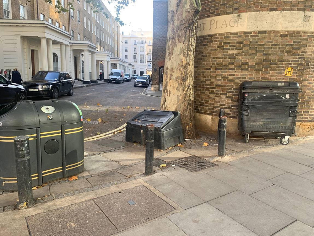 Fly Tipping Hotspot Cleaned Up