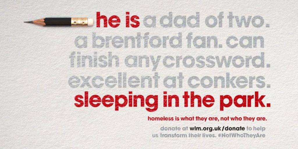 West London Mission Not Who They Are campaign