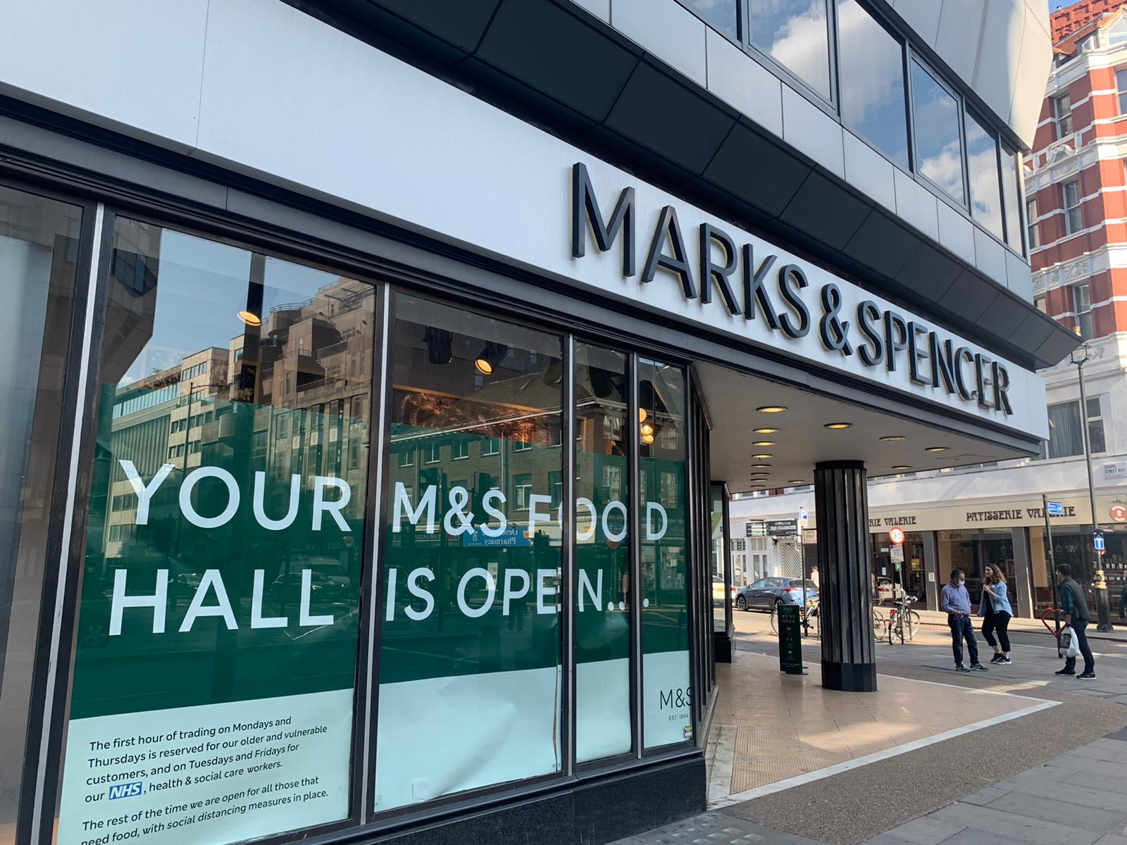 M&S Edgware Road