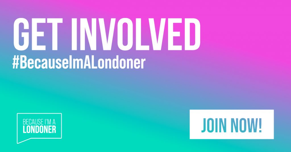 #BecauseImALondoner campaign