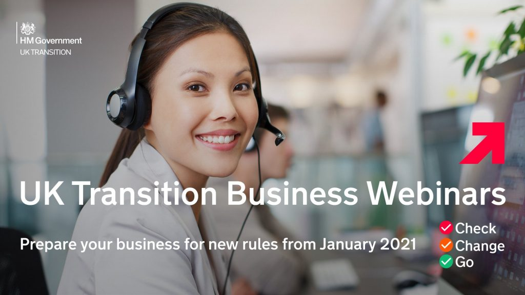 UK Transition Business Webinars