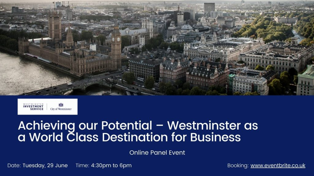 Panel Discussion: Westminster as a World Class Destination for Business